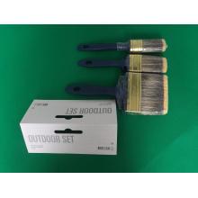 Escova de pintura com cerdas misturadas filamento