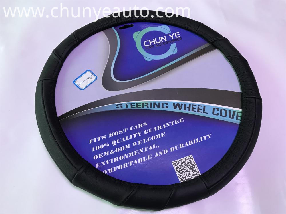 hotsale leather steering wheel cover
