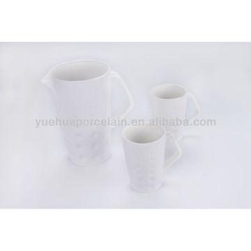 Keramik-Trinkwassertopf mit Becher