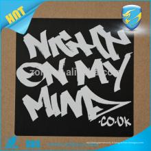 Boutique en ligne d'étiquettes acryliques retirées en vinyle étiquette à coquille d'oeufs étiquettes antidouleur destructibles pour logo privé