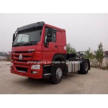HOWO 4X2 Tractor Truck Double Axles Trailer Head