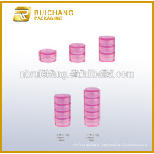 10g/20g/30g/40g/50g multilayer plastic cosmetic container/jar,cosmetic cream jar,plastic cosmetic jar,plastic cosmetic containe