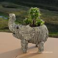Water Hyacinth Elephat Shape Pot