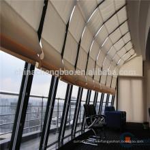 Simplemente estilo de pantalla solar cortina romana persiana coche rodillo