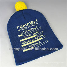 Tejido patrón earflap sombrero neón BN-0010