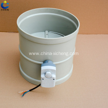 electric air valve air flow control