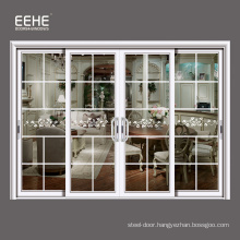 Office price of aluminium sliding door with fly screen