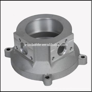 CNC-Pressen von Edelstahlteilen für Maschinenteile.