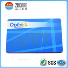 Cartão plástico dos cartões do VIP do desconto do PVC