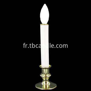 Battery operated taper candle