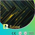 Kommerzieller 12.3mm Spiegel Teak Water Resistant Laminatboden