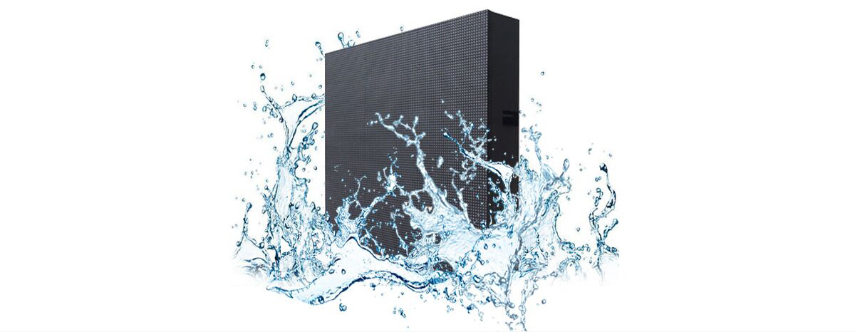 Commercial outdoor led display- waterproof