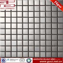 L'usine d'approvisionnement de foshan mosaïque d'acier inoxydable carrée pour la réception de magasin