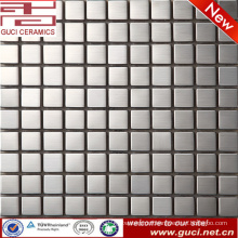 foshan factory supply Square stainless steel mosaic tile for Shop front desk