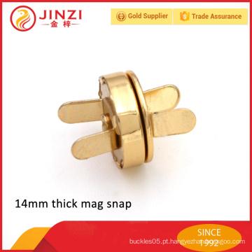 Fivelas magnéticas fortes da bolsa do metal da alta qualidade para o saco
