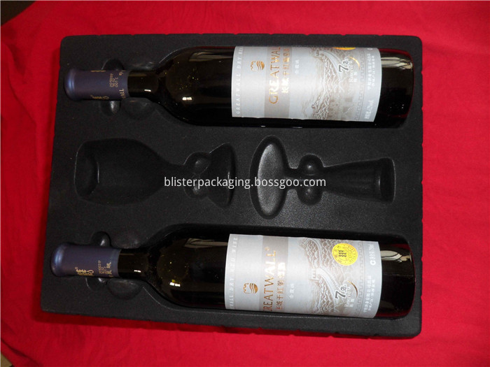 flocking wine bottle packaging