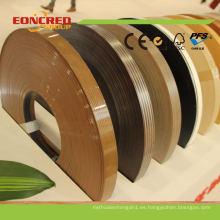 Curve Edge Banding, bandas de borde de PVC