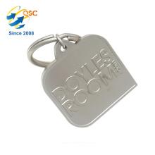 A mão feita sob encomenda de alta qualidade do logotipo carimba presentes relativos à promoção feitos sob encomenda Keychain