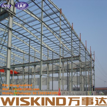 Steel Structure Building Construction Warehouse/Worshop by Wiskind