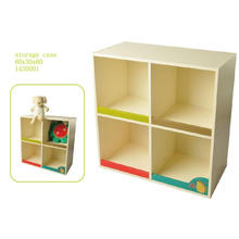 Factory Supply Wooden Storage Case Storage Container Kids Furniture
