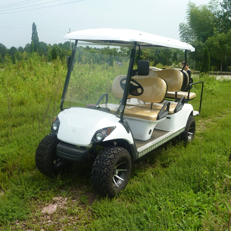 Carrello da golf a 4 posti golf a gas