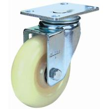 Swivel Nylon Caster (White)
