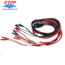 Electronic Wire Harness Overmolded OEM Cable Assembly