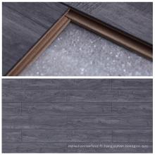 Plancher en stratifié EIR de 12 mm Gris pour chambre à lit avec bonne qualité
