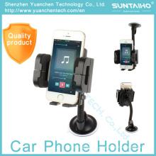 O suporte da montagem do pára-brisa da sucção 360 gira o suporte ajustável do telefone do carro