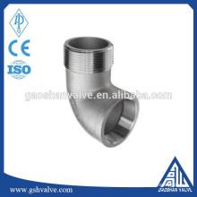 China fornecimento de aço inoxidável cotovelo montagem de tubos