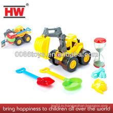Пластиковые игрушки для пляжа