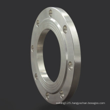 Customized din standard 304 stainless steel thread tubing flange