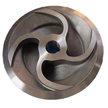 Material de alumínio Casting Part by OEM