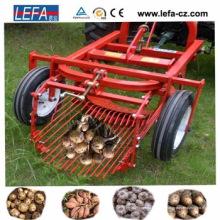 Tractor para caminar con picadora de patatas Mini-Row Potato Harvester