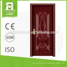 China-Qualitätsstahle Massivholztüren für Haus benutzt