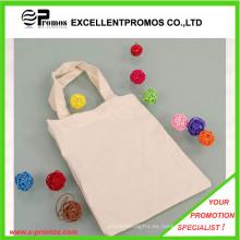 El logotipo personalizado modificado para requisitos particulares imprimió bolsos de totalizador de las compras del algodón (EP-B9098)