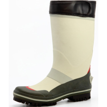 Men's Fishing Rubber Boots With Velcro Cover