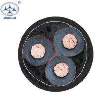 atacado de alta tensão 1 núcleo 3 núcleo xlpe 11kv preço do cabo de energia subterrânea