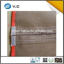Free Sample ptfe coated fiberglass mesh convertor belts price PTFE fabric mesh with good quantity