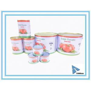 Canned tomato paste/Canned peeled tomato