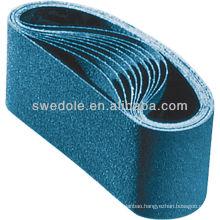 SATC SAIL electro super coated E-wt gxk51 sand belt /abrasive belt for polishing