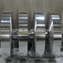 8011 tiras de aluminio para tapas farmacéuticas