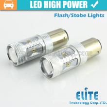 O mais novo!!! 30W 1157/3157/7443 / T20 / T21 luzes de farol de luz mais potentes para caminhões