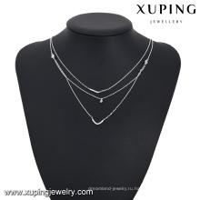ожерелье-00200-дешевые оптовые ювелирные изделия многослойное ожерелье