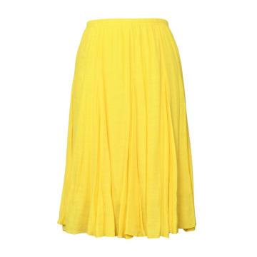 High Waist Two layer Women Summer Pleated Skirts