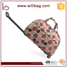 Wholesale Lightweight Polyester Luggage Bag Trolley Travel Bag