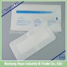 Matériau non tissé de pansement adhésif médical de blessure