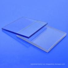 Tablero de aislamiento eficaz público policarbonato transparente