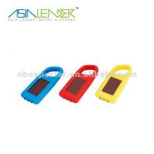 Porte-clés solaire mousqueton