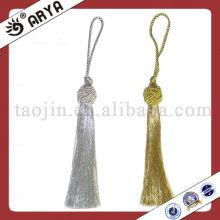 Polyester Tassel Tiebacks For Curtain Fasten And Graduation Tassel Tiebacks Key Tassels